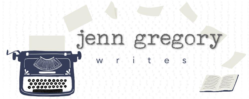 Jenn Gregory Writes